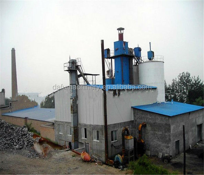Lowest cost environmental -friendly gypsum powder machine / POP machinery