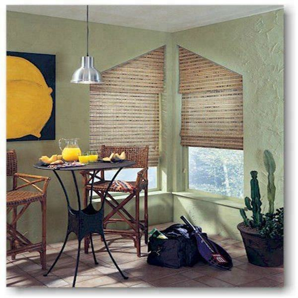 Haoyan New design bamboo home door window stripe curtain