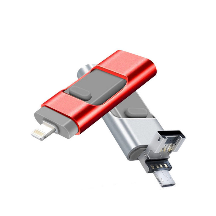 IOS Flash Drive 128 gb iPhone Memory Stick voor iPhone iPad Android en Computers