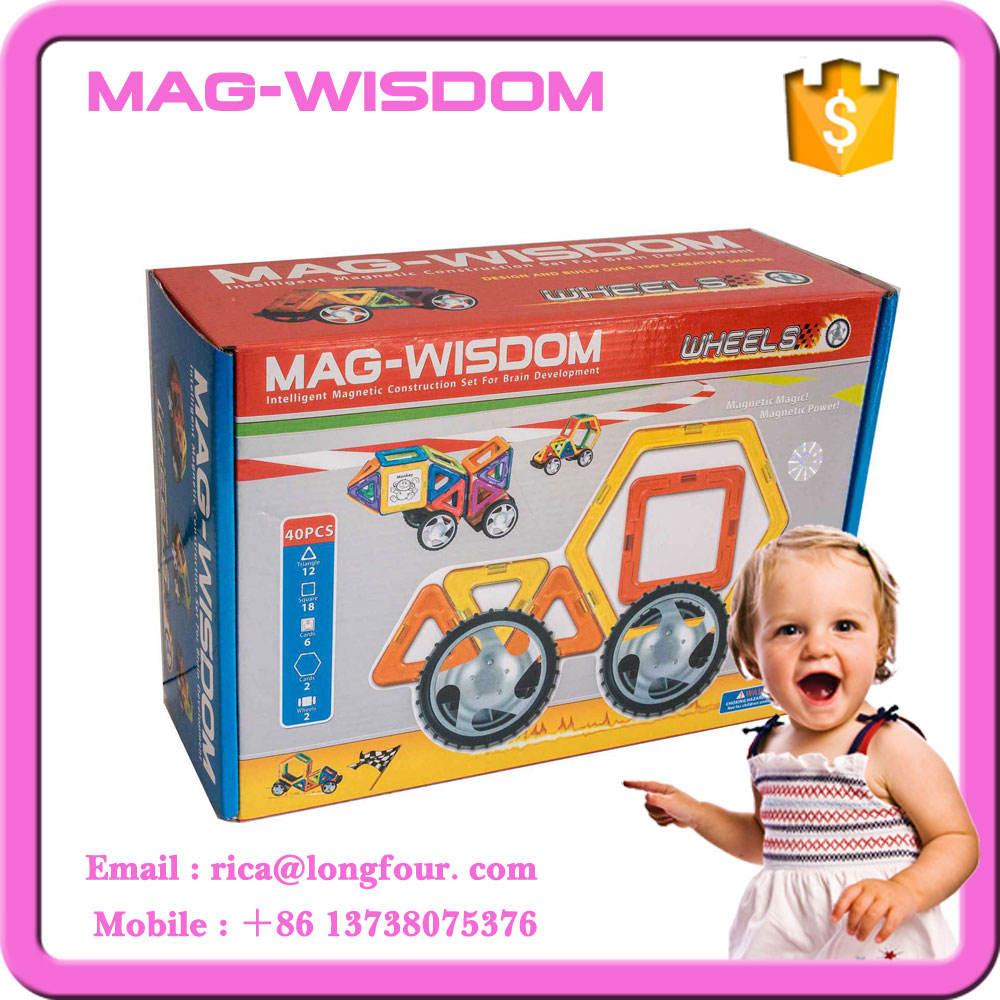 40 PCS Nouveau Magformers Jouets pour Enfants cadeau