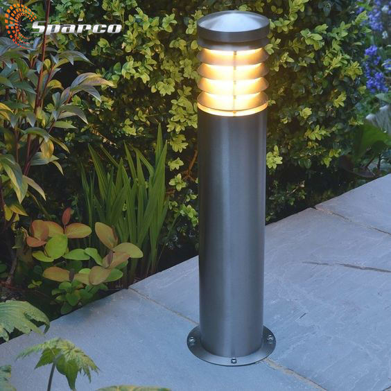 Sparco Wholesale price stainless steel modern led luminaire bollard with light