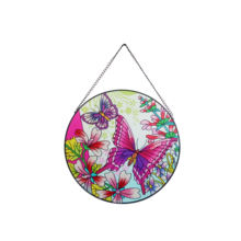 Decorative Wall Hanging Stained Glass Painting  Sun catcher