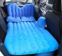 Inflatable car air bed mattress for travel