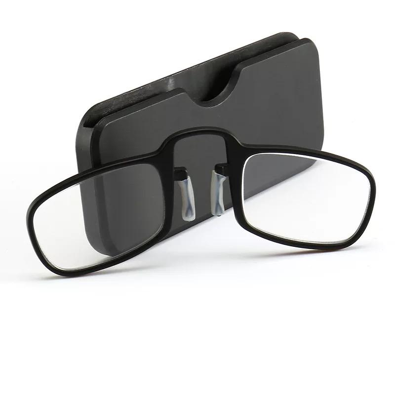Promotional unisex PC clip nose reading eyeglasses plastic design reading glasses