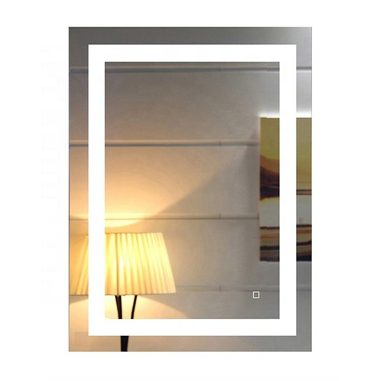 UL ETL CE Custom Frameless LED Lighted Wall Mirror