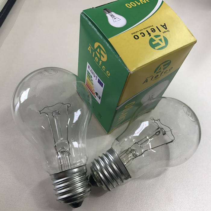 Best-Selling High Quality 110v 220v E27 75w 100w 150w 200w e27 A19 lamp bulb light Incandescent edison bulb