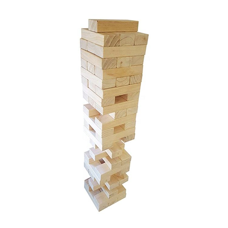 Giant Wooden blocks wooden skittles game,Giant Tumbling Timber, outdoor game