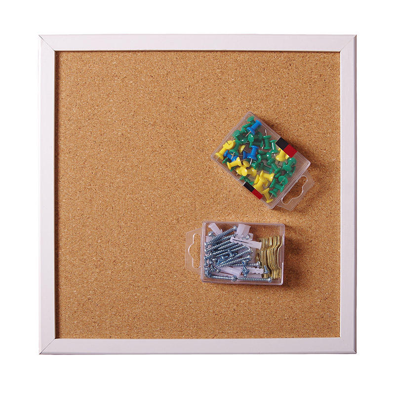 30*30 Bulletin Push Pins Cork Board for Memo Advertising