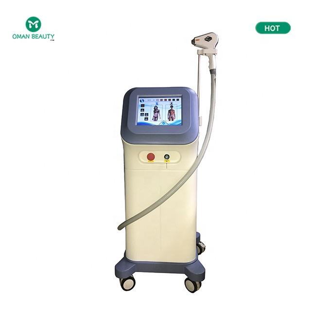 Sales Newest 808nm hair removal machine diodeisrael price laser depilation in motion