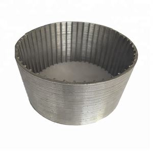 Wedge wire screen filter mesh Wedge vee draad slot goed screen nozzle stariner filter