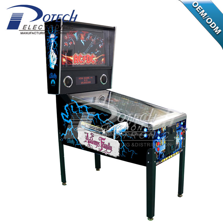 2018 hot koop guangzhou spel fabriek Adam familie pinball game machine