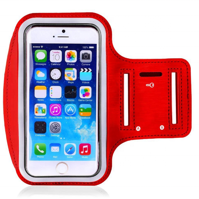 Running Armband Case With Headphone Jack for arm bag mobile phone