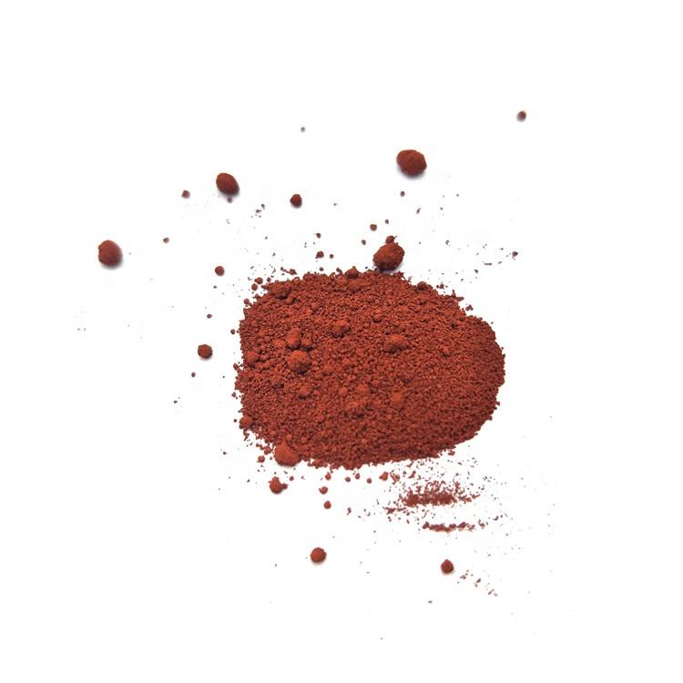 Fe2O3 Catalyst Color Pigment Powder Iron Oxide Red 110 synthetic Ferrous Oxide red