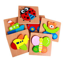 BL084 New hot puzzle children wooden toys educational cylinder building blocks toys for kids