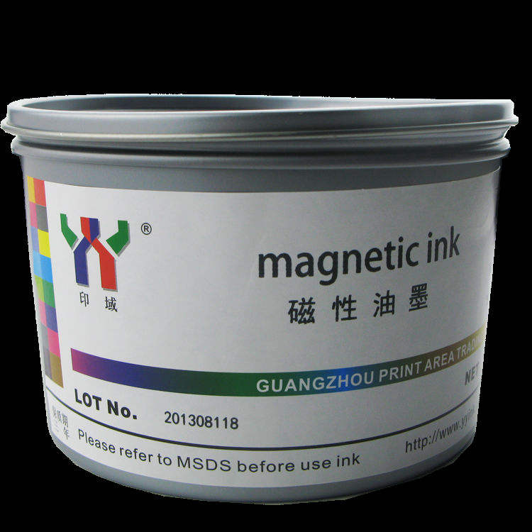 Anti-counterfeiting Magnetic Ink For Screen Printing black color