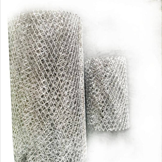 Knitted wire mesh stainless steel filter bubble net/screen/fabric foam demister/removal/defoamer cartridge/defoaming filter