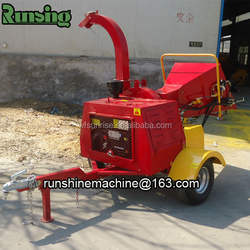 CE approved firewood processor DWC-22 wood chipping machine