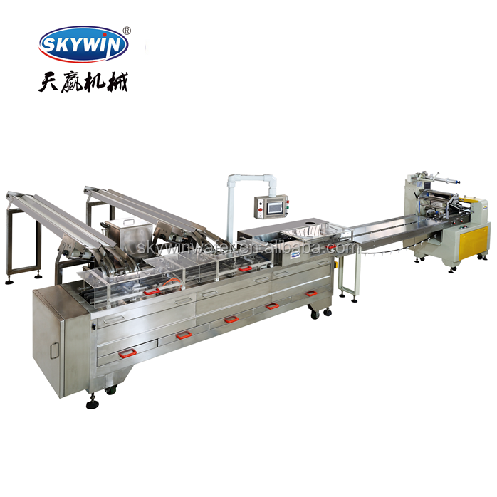 Full Automatic Biscuit Sandwiching Machinery Ice Cream Sandwich Biscuit Production Line/marshmallow biscuit /tea biscuits
