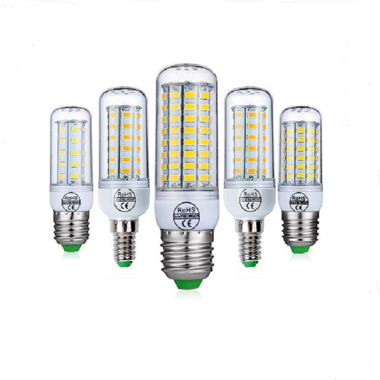 Hotsale cheap CE RoHS E27 E26 E14 110V 220V energy saving light led corn lights corn bulb
