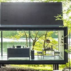 9 METERS Complete decorative luxury prefab house/ container house luxury hotel& commerical use