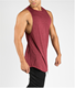 new custom made fitness tank tops mens sports gym clothing