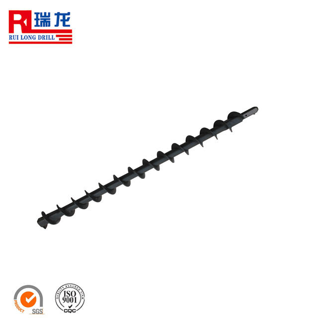 Coal Mining [ Spiral Rod ] Pipe Drill Rod Drill Pipe Clamp Drill Pipe With Auger Flight Spiral Drill Rod