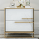 Simple modern bed night stand with drawer