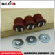 Top quality plastic round magnetic door catch magnet