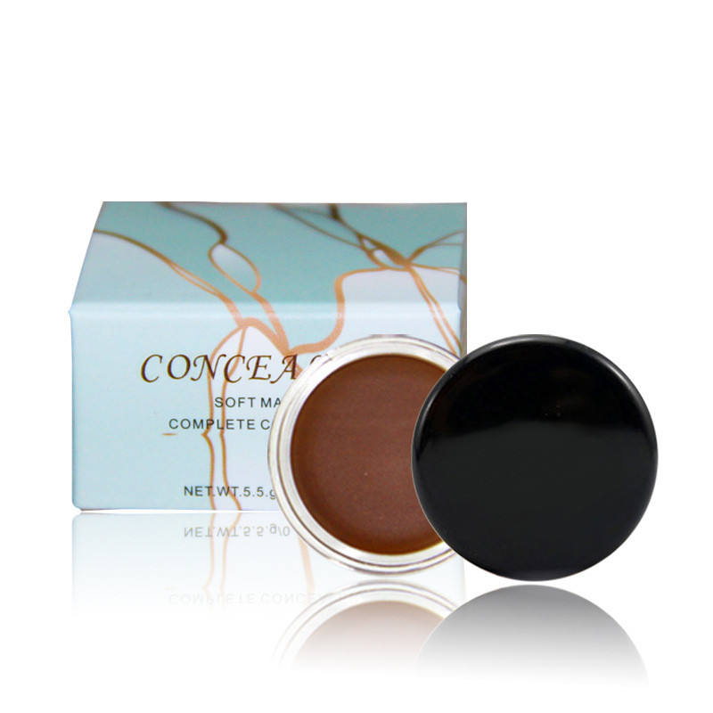 Korea Vegan Concealer Makeup Custom Packaging Concealer Private Label waterproof Cruelty Free Cream Concealer