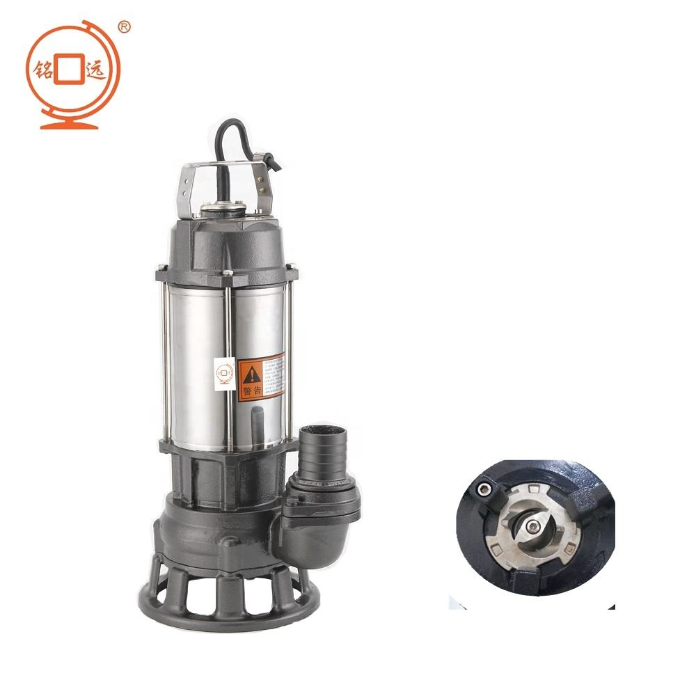 Mingyuan Manufacturer Warranty 3years Stainless steel with cutter Submersible water Pump