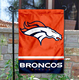 Wholesale Denver Broncos Double Sided Garden Flag