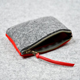 Promotion china export cheap cute money pouch felt coin purse