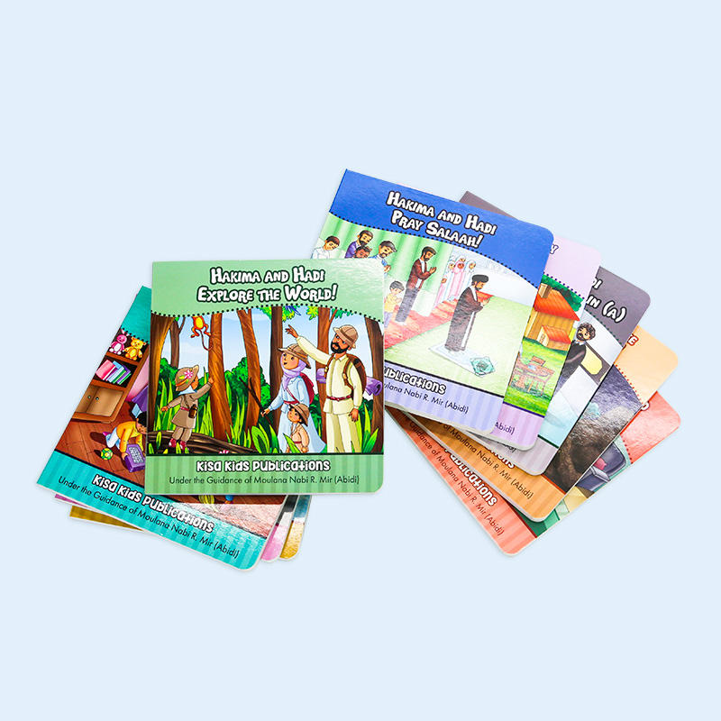 Made in China English Learning beautiful Kids Reading Boardbook children learning book
