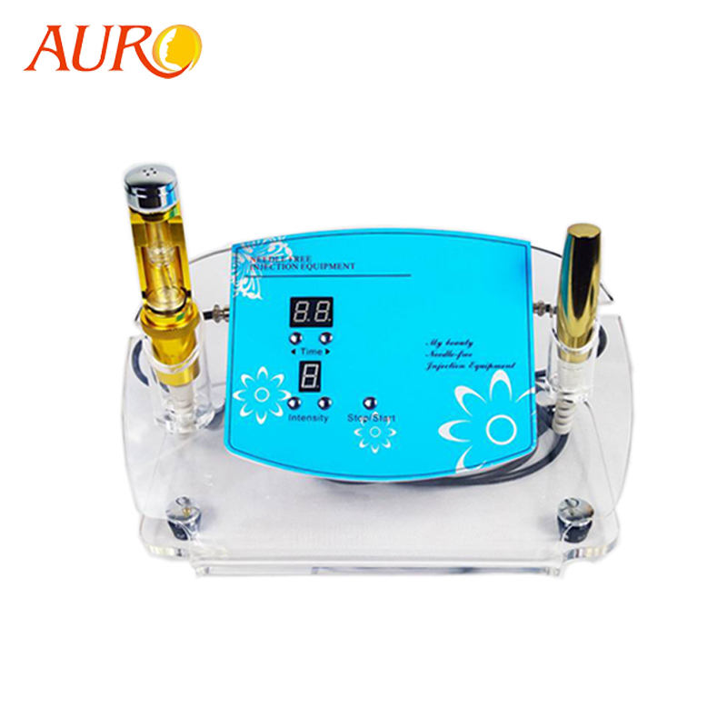 Au-49 AURO Electroporation No Needle Mesotherapy Iontophoresis Machine