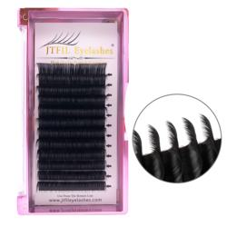 100 % Hand Made 0.03 - 0.25 mm Thickness OEM JTFIL Hot Selling With Private Label For Individual Eyelash Extension
