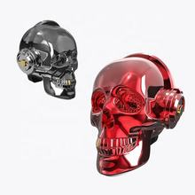 Bluetooth speaker with Led lamp Wireless Stereo Sound OneDer V7 Skull Head Speaker