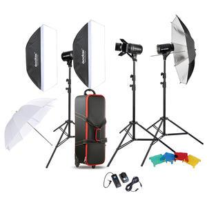 Buy Godox SK400II X 3-Light professional Studio Flash Kit for take good quality commercial portrait photography