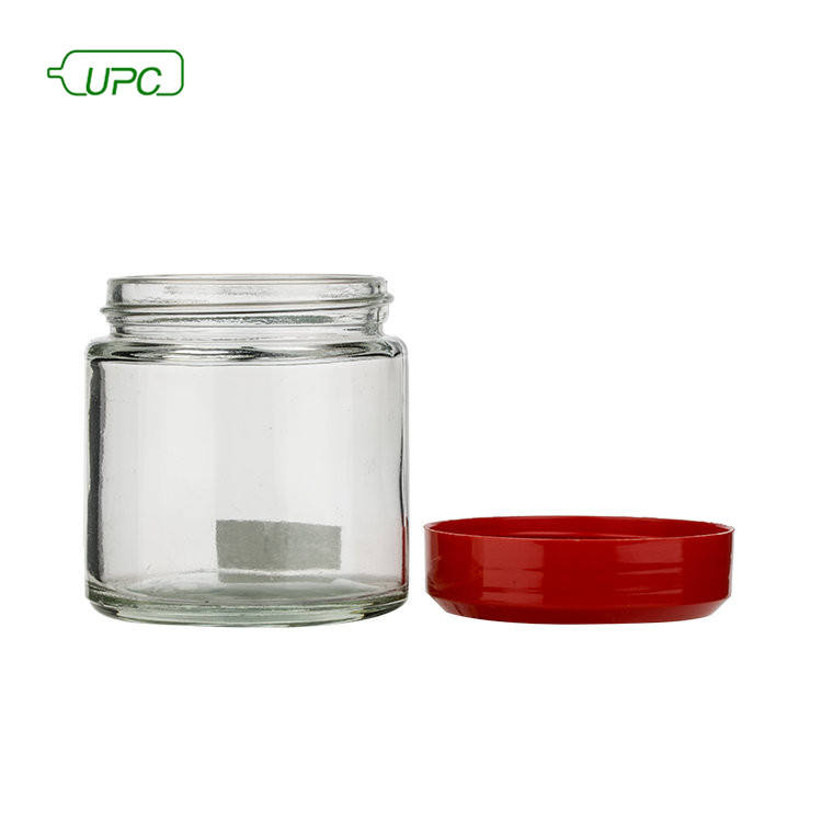 Unique honey glass bottle jars hexagonal honey container