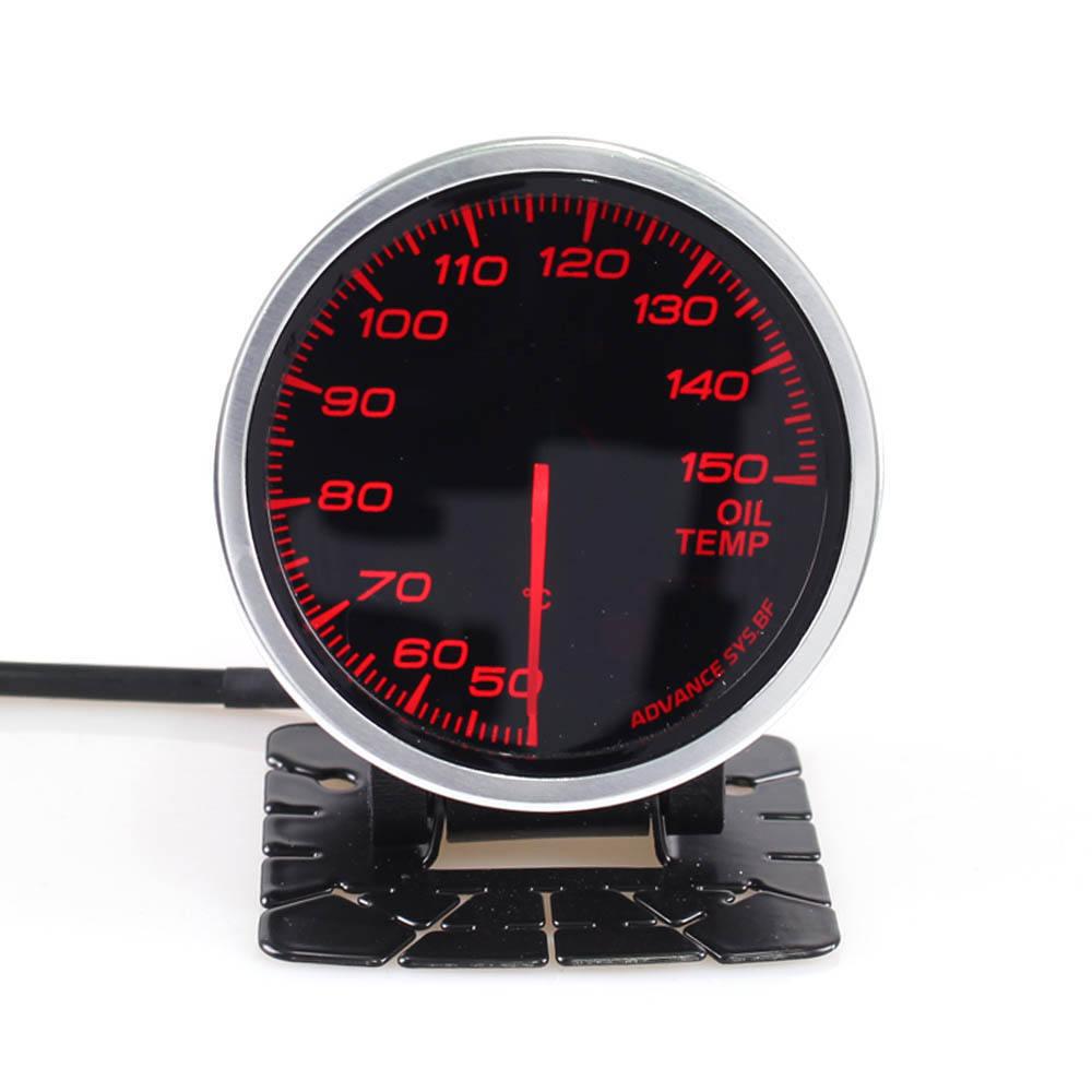 "Car Auto 2.5"" 60mm 7 Color Defi advance BF Oil Temp Oil Temperature Gauge Meter"