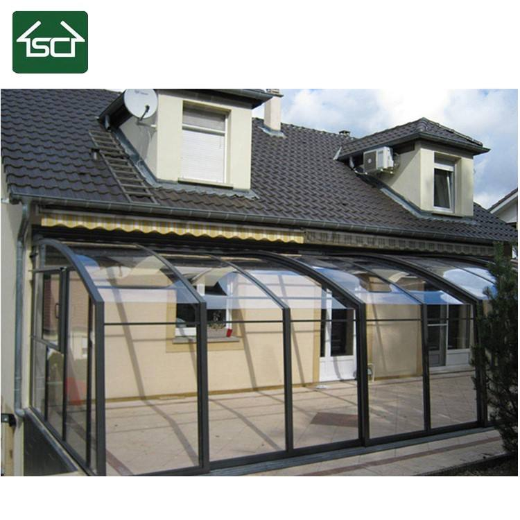 Hot Selling Outdoor Patio Covers and Roofing with Aluminium Frame and PC panels