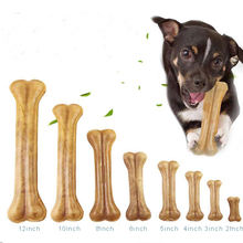 Nylabone Real Wrap Knotted Rawhide Food Snack Toy Dog Chew Bones