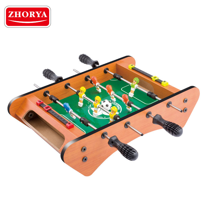 Zhorya football sports MDF mini portable soccer table for sale
