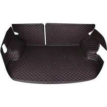 High quality design cheap leather material car trunk mat