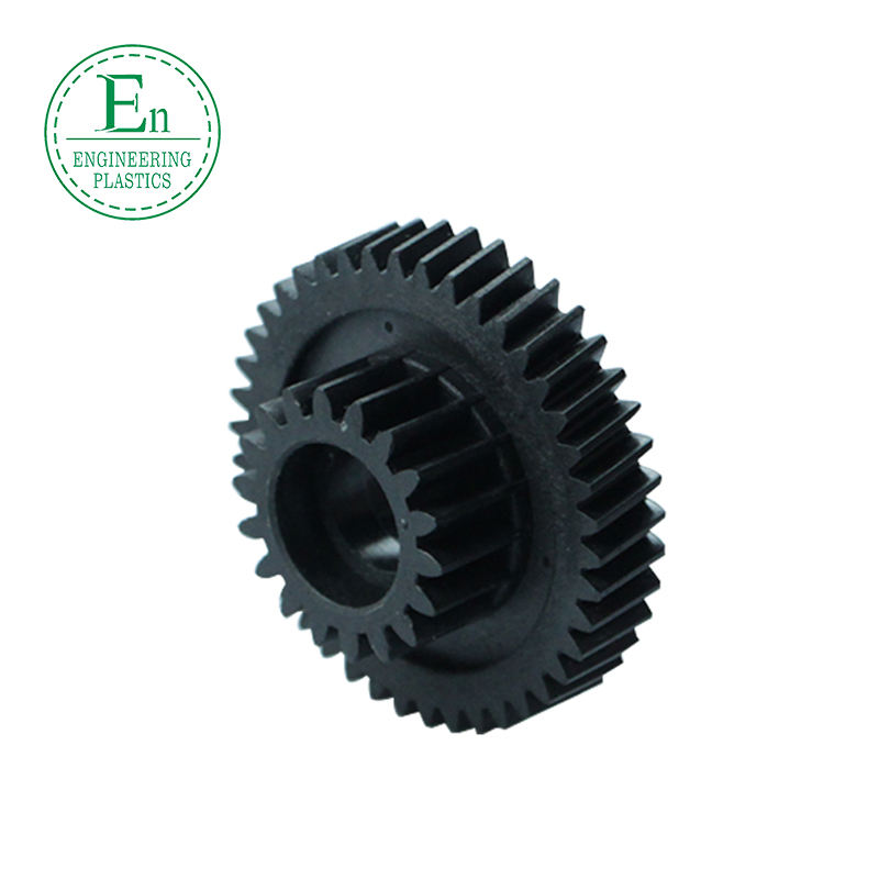 High precision custom-made nylon plastic straight bevel gear