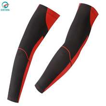 Factory Direct Mens Polyester Sublimated Cycling Arm Sleeve  Long Sleeve
