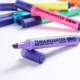 8 colors office&school supplies sta water based highlighter set snowman marker paint marker pen