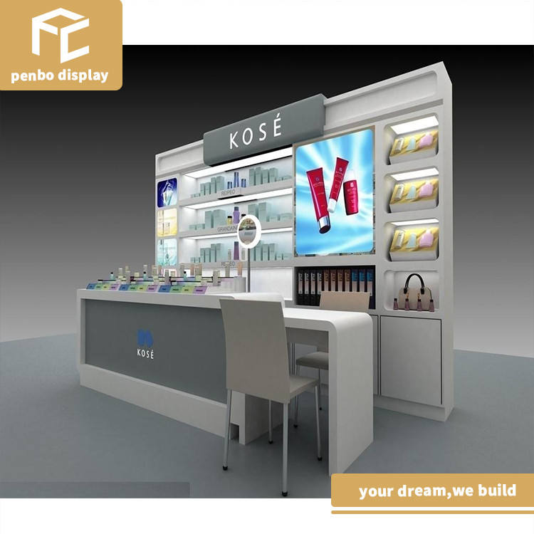 Factory price custom nail kiosk manicure pedicure, nail bar kiosk for manicure