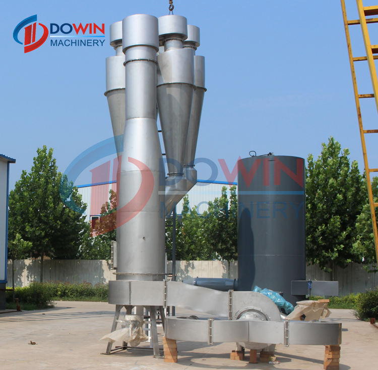 Small scale 5tpd cassava starch processing machine