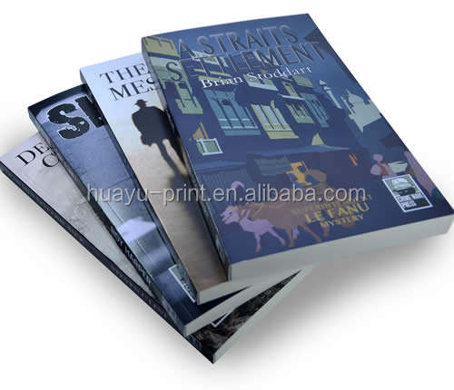 Perfect Bound or Softback Books Paperback Book printing