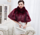 fake fur shawl artificial fur stole